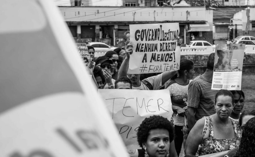 Zuspitzung der sozialen und politischen Lage Brasiliens